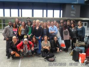 Participant-e-s à la 6e Université du RéDoc